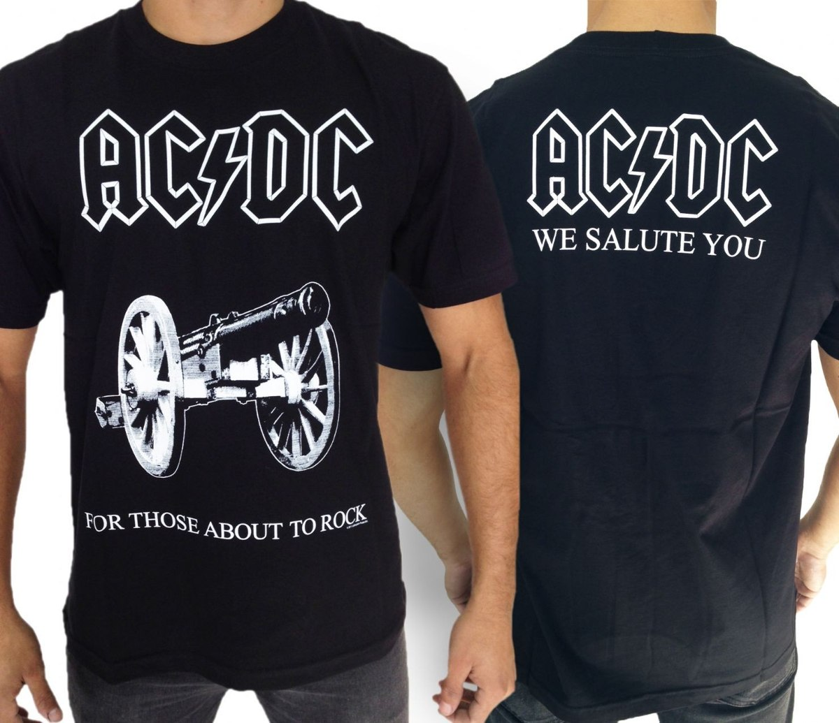 3c8eea9cb2 Camisa Acdc For Those Camiseta Banda De Rock Promoção! - R  35