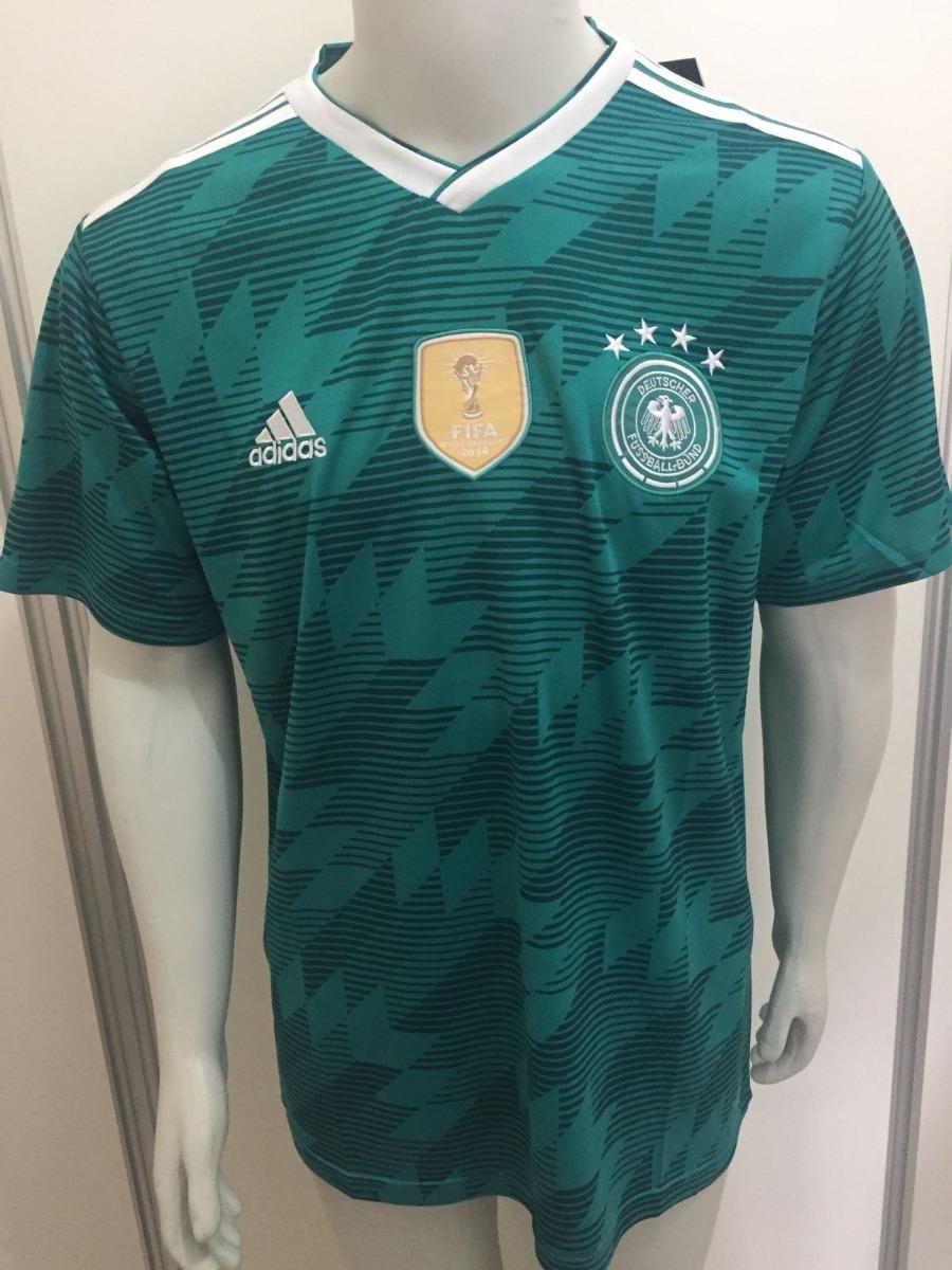 camisa adidas alemanha away oficial copa da russia 2018. Carregando zoom. 4652048e8ff30