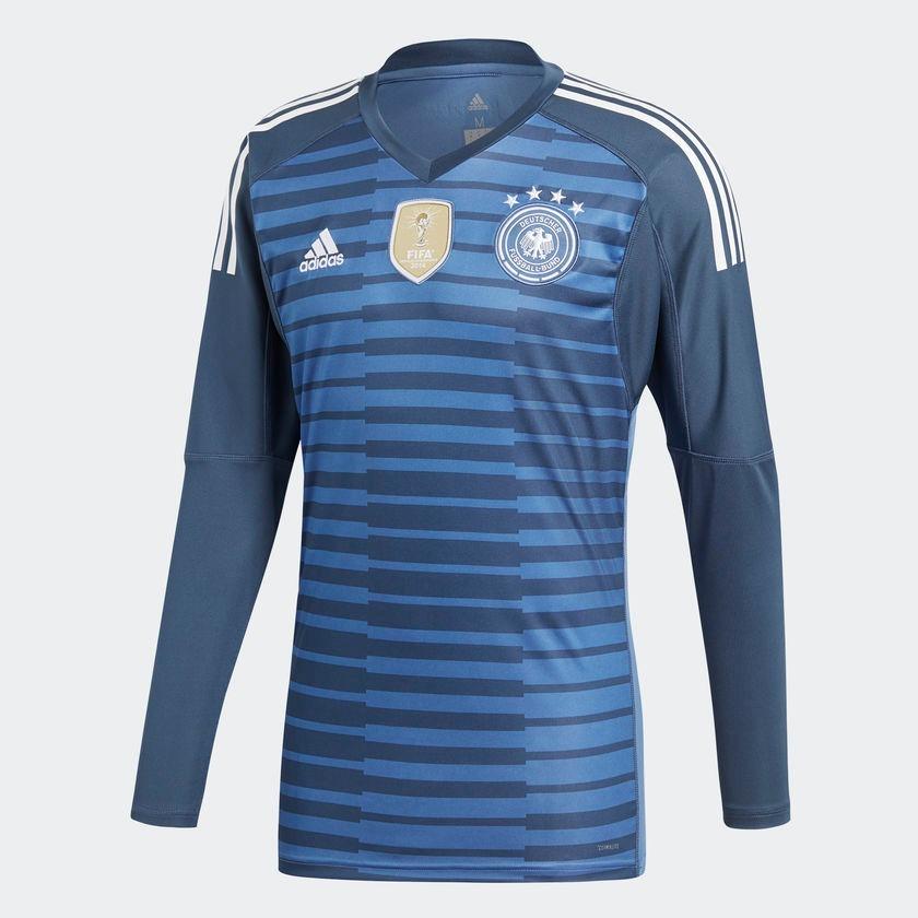 camisa adidas alemanha goleiro 2018 azul. Carregando zoom. 12ee6ed086993