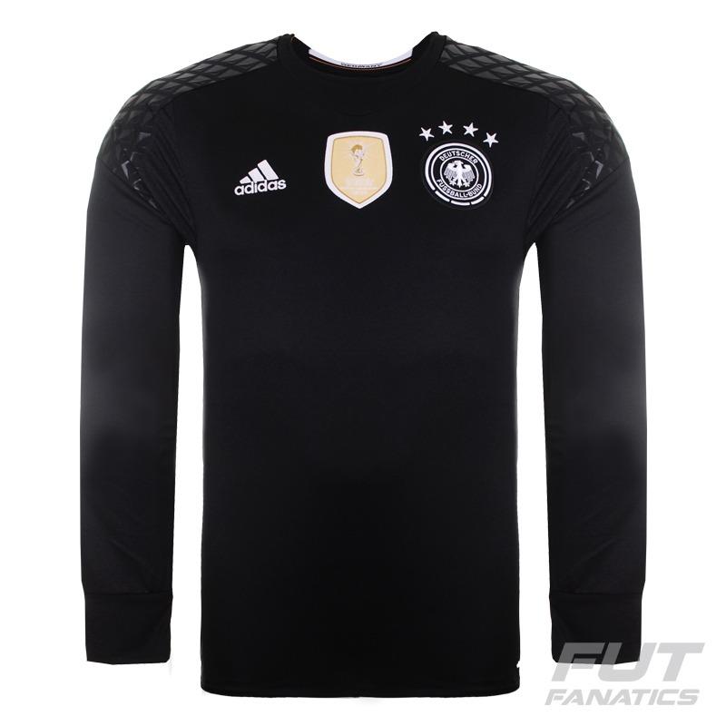 f48ce97333 camisa adidas alemanha goleiro home 2016 - futfanatics. Carregando zoom.
