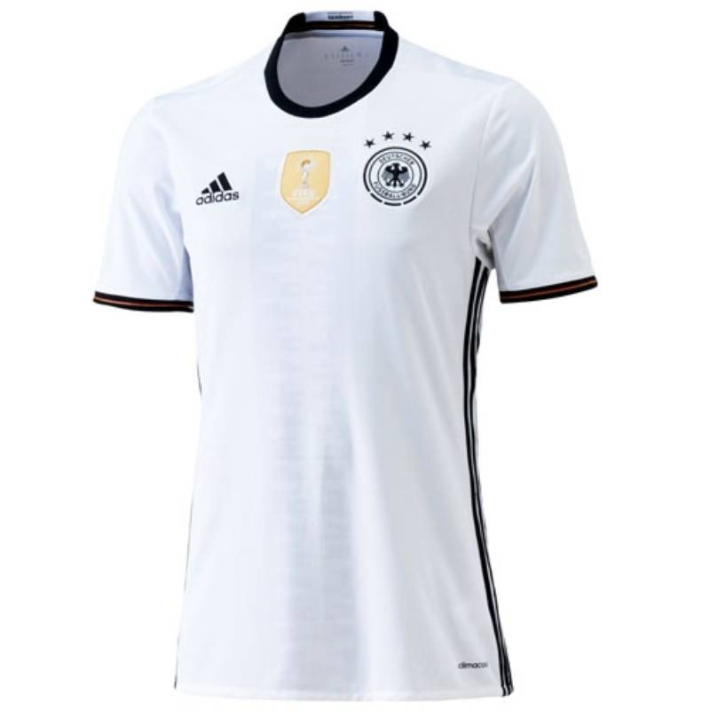 camisa adidas mascu ina a emanha i 2016 ai5014 branco preto ... 35d216ff87dd0