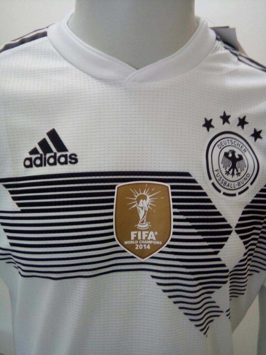 f14bd936d6 camisa adidas alemanha oficial copa rússia 2018 - home -jogo. Carregando  zoom.