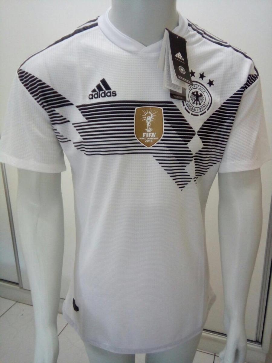 Camisa adidas Alemanha Oficial Copa Rússia 2018 - Home -jogo - R ... daada752a5e9e