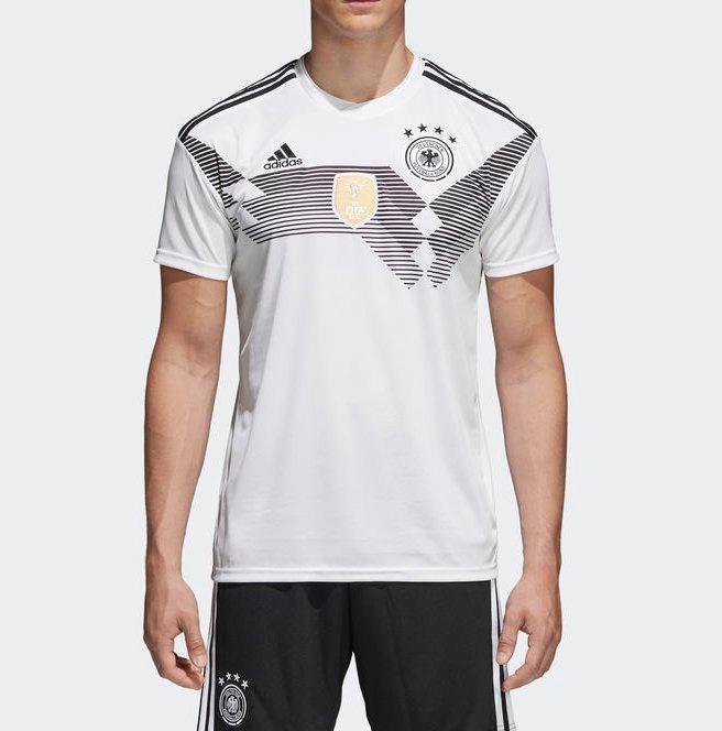 Camisa adidas Alemanha Oficial I S n - Gg - Branco - R  169 d7b00519b664e