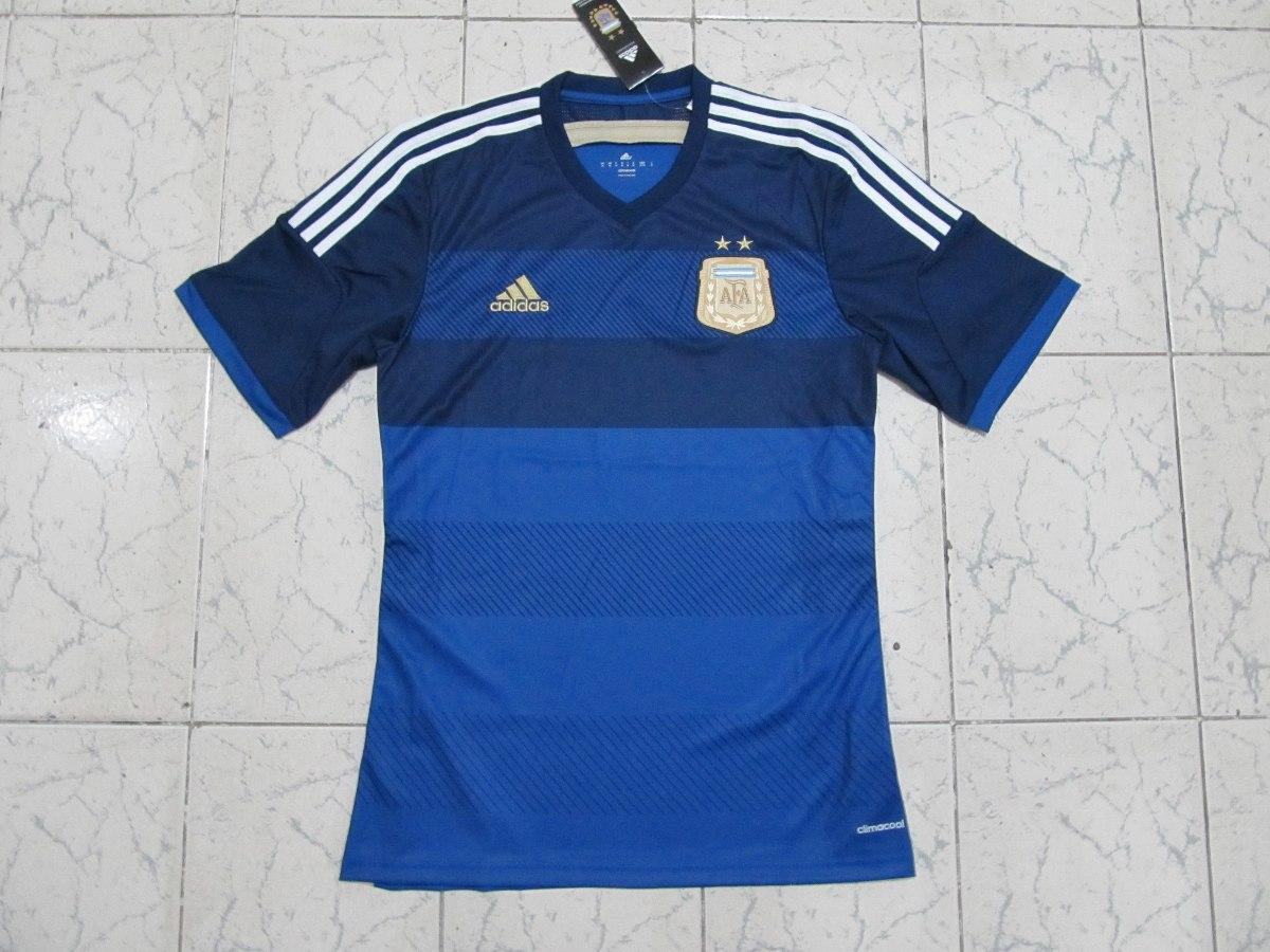 camisa adidas argentina away azul 2014 - tam m nova. Carregando zoom. 759d4067adf9b