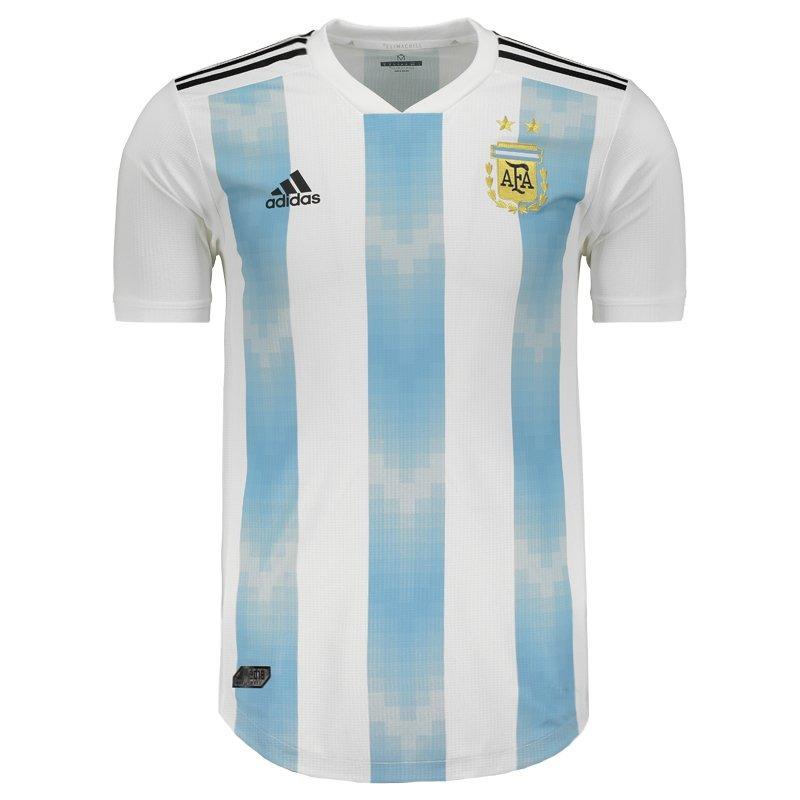 5bf82521c Camisa adidas Argentina Home 2018 Authentic - R  264