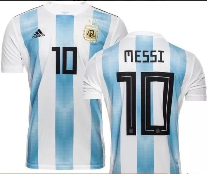 9e75b7585 Camisa adidas Argentina Home 2018 Messi - R  100