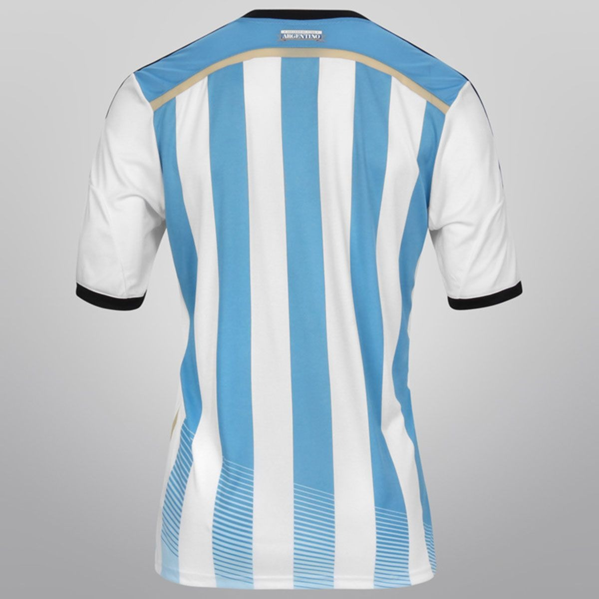 de2b9ce86695c camisa adidas argentina i 2014 home s nº oficial original+nf. Carregando  zoom.