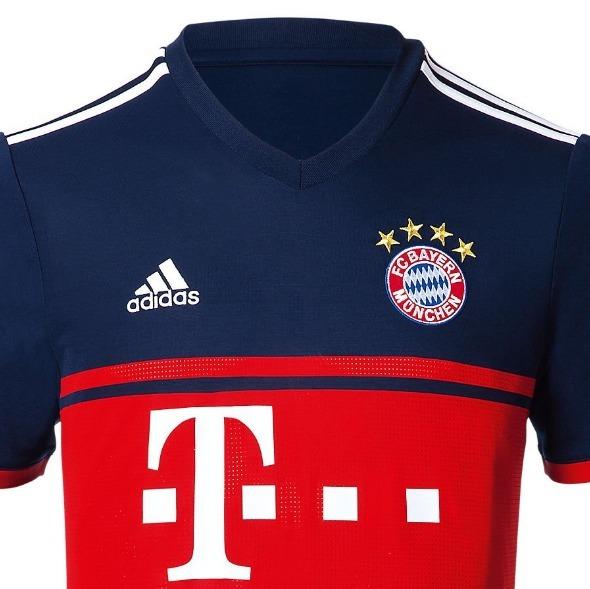 200fb82a97d2f Camisa adidas Bayern De Munique Alemanha Home 2018 Original - R  176 ...