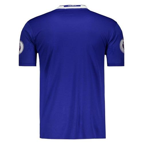 Camisa adidas Chelsea Home 2017 Premier League - R  199 6f7711863c33f