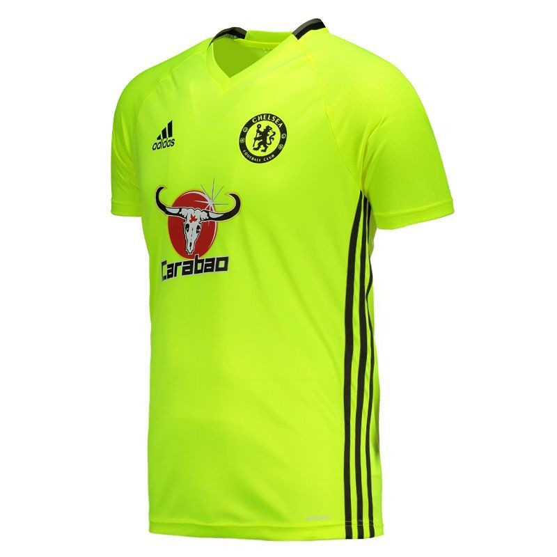 camisa adidas chelsea treino 2017 verde. Carregando zoom. e9268a3732119