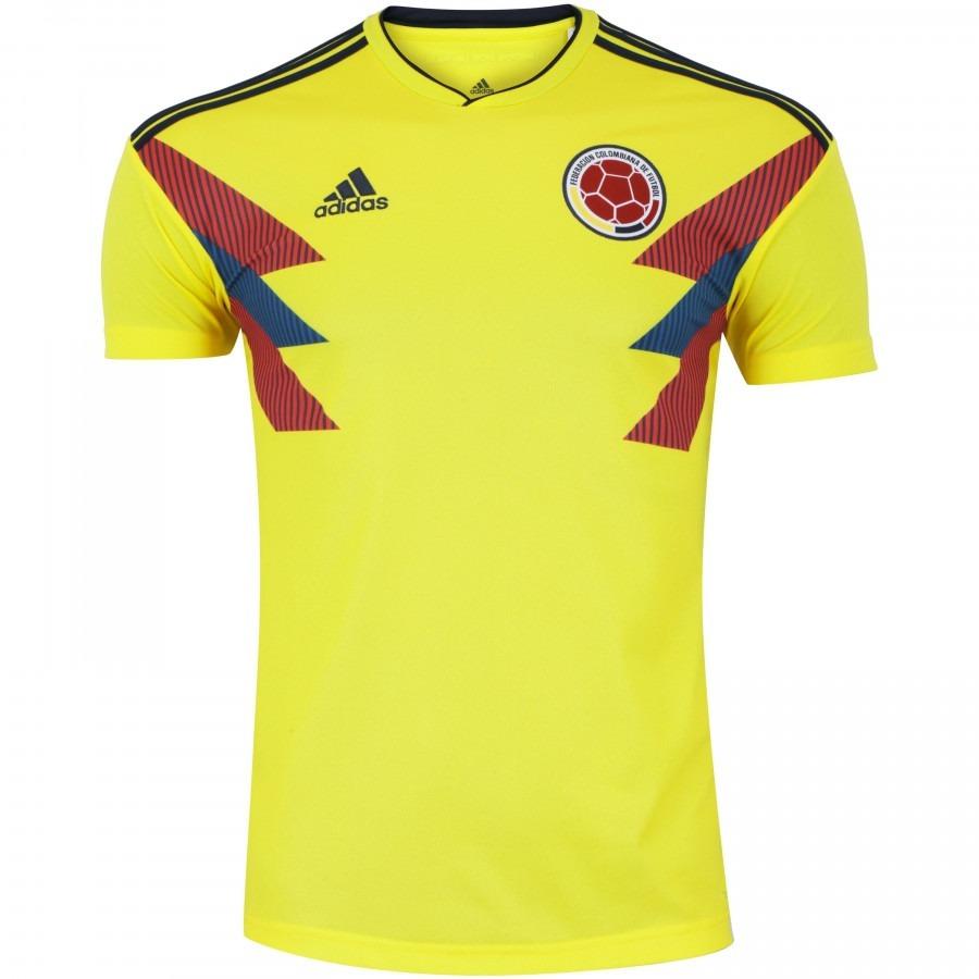51b287ecb5 Camisa adidas Colômbia Home 2018 James Falcão Mina Original - R  129 ...