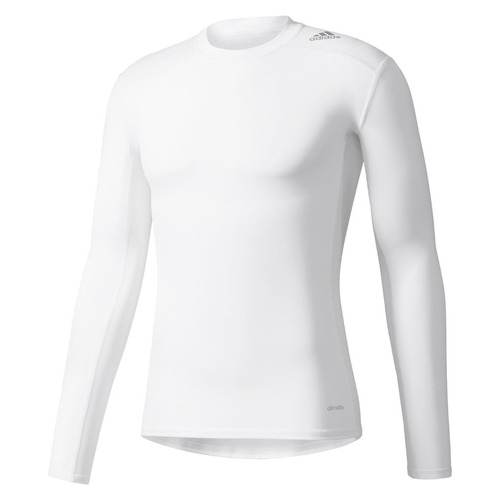 1bdea6f5a4 Camisa adidas Compressão Tech Fit Proteção Solar Fps 50+ - R  129