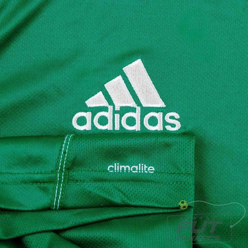 camisa adidas core 15 treino juvenil verde. Carregando zoom. 1d9c33201ea40