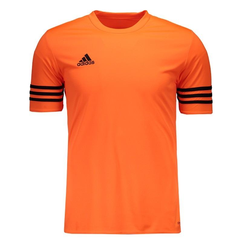 camisa adidas entrada 14 laranja. Carregando zoom. 8fad15395e9fb