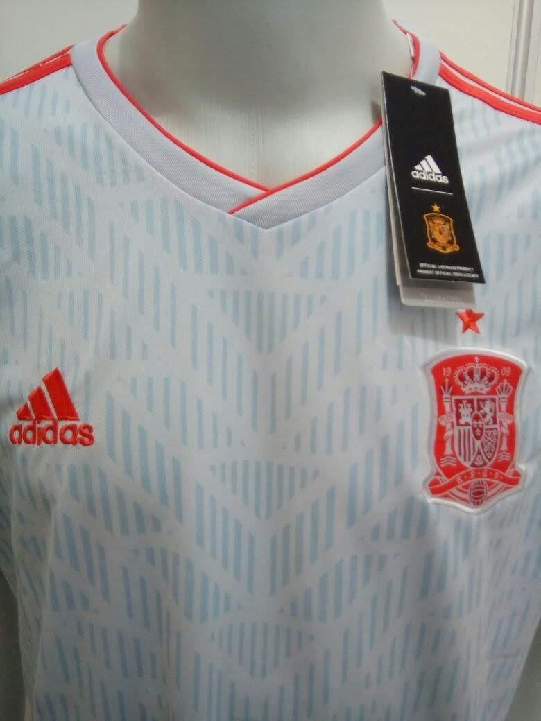 bbe60eee97 camisa adidas espanha away oficial copa da russia 2018. Carregando zoom.
