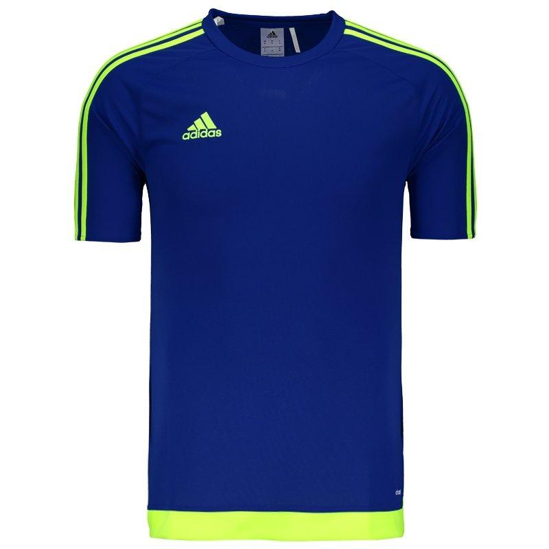 camisa adidas estro 15 azul. Carregando zoom. 203ca9bd960fe