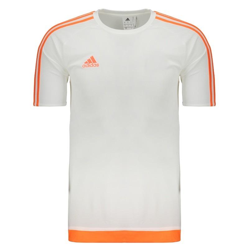 camisa adidas estro 15 branca. Carregando zoom. d288885dbbd18