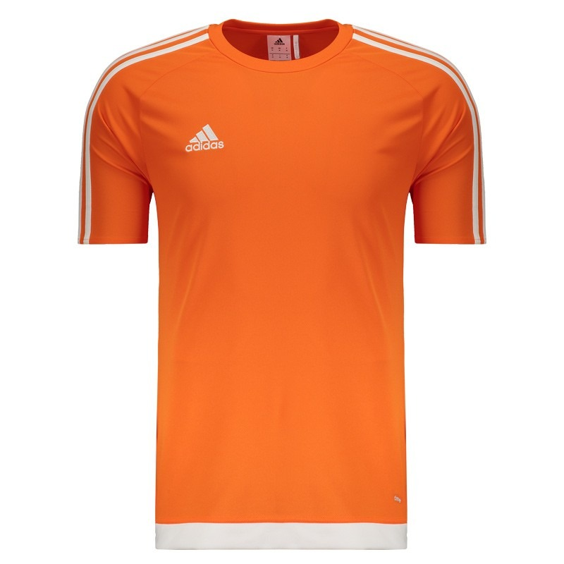 e9aa12ce8b Camisa adidas Estro 15 Laranja - R$ 64,90 em Mercado Livre