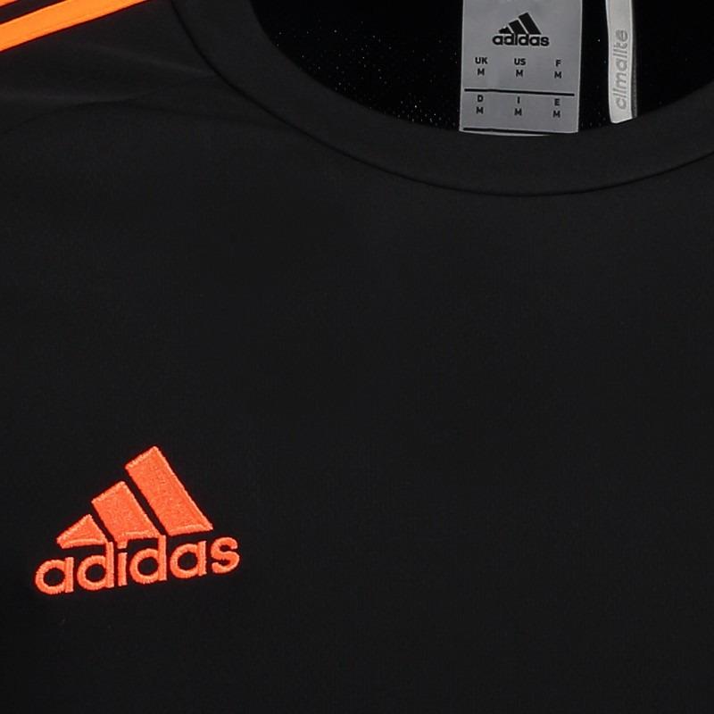 camisa adidas estro 15 preta. Carregando zoom. f7446b2d550de