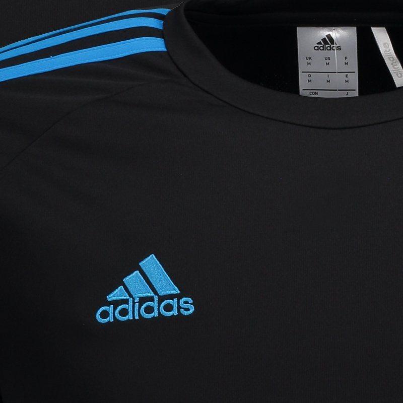 aa911c3018 Camisa adidas Estro 15 Preta E Azul - R$ 74,90 em Mercado Livre