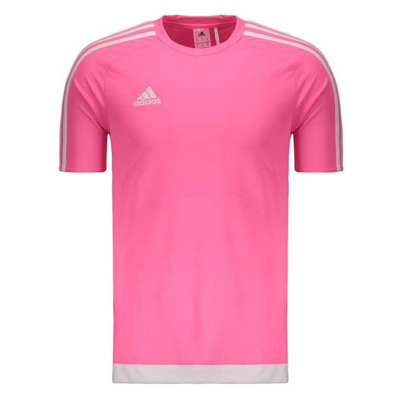 0b7b9492f4b camisa adidas estro 15 rosa. Carregando zoom.