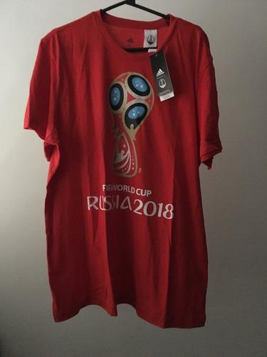 camisa adidas fifa world cup russia 2018 tamanho gg (xl)