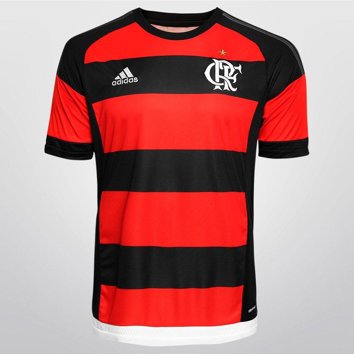 47a26910b2c40 Camisa adidas Flamengo 15 16 Original Oficial De 249