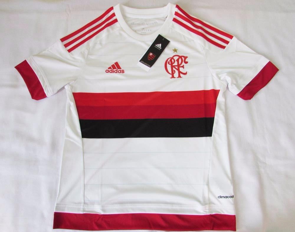 1c0673793d Camisa adidas Flamengo 2 2015 16 Infantil 12 E 14 Anos Og - R  70
