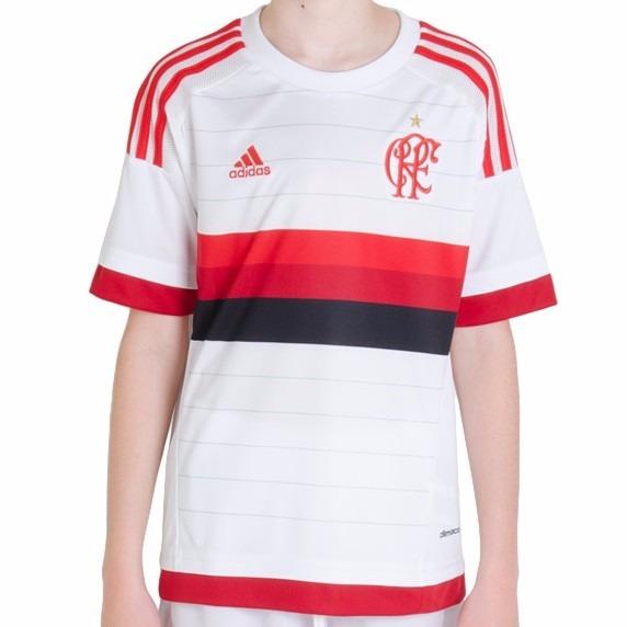 Camisa adidas Flamengo 2 Oficial Infantil Original 1magnus - R  59 ... 0743bcc76722d