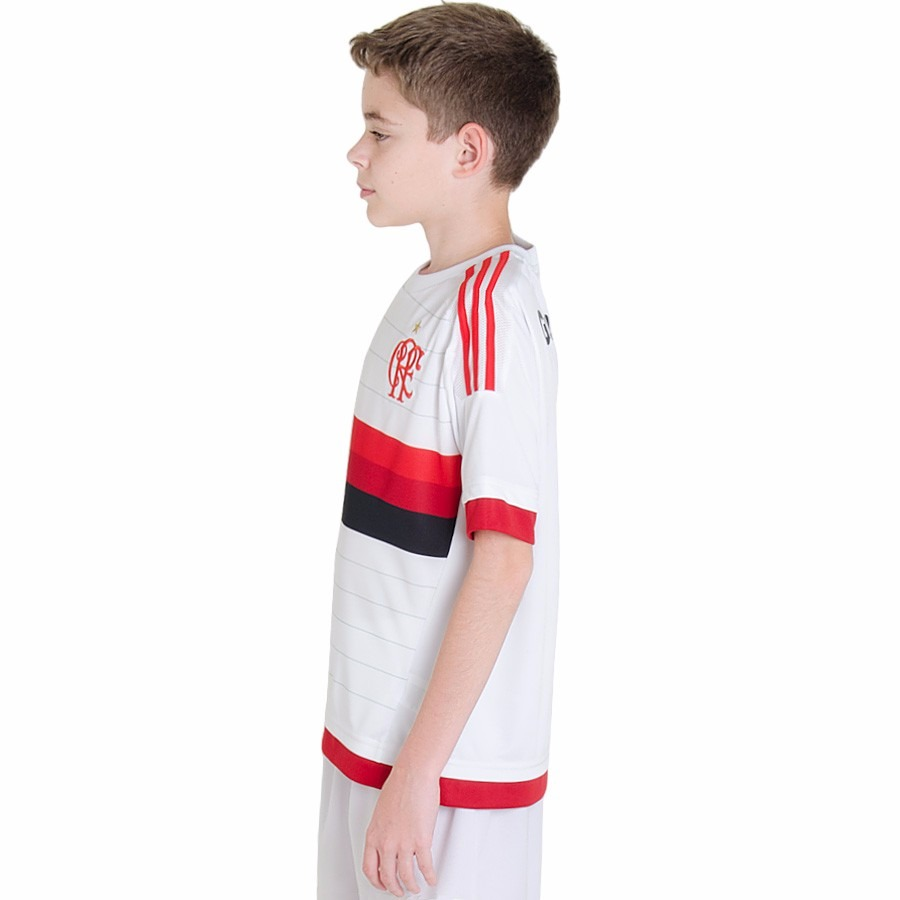 camisa adidas flamengo 2 oficial infantil original 1magnus. Carregando zoom. a77c44b62b0f8