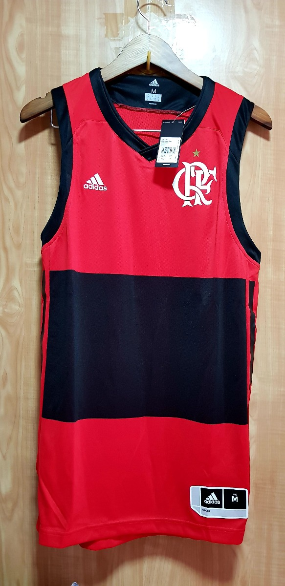 c25ff113ffe2e camisa adidas flamengo basquete 2018 original+ nota fiscal. Carregando zoom.