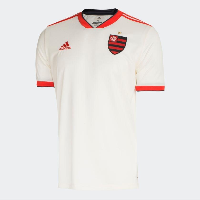 camisa adidas flamengo branca uniforme 2 2018 2019 original. Carregando zoom . 9652846c6030e