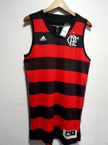 camisa adidas flamengo de basquete,original + nota fiscal