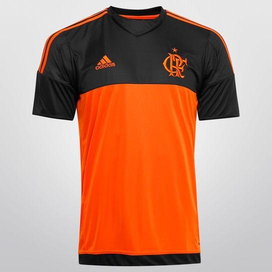b566198a104c7 Camisa adidas Flamengo Goleiro 2015 S nº - R  175