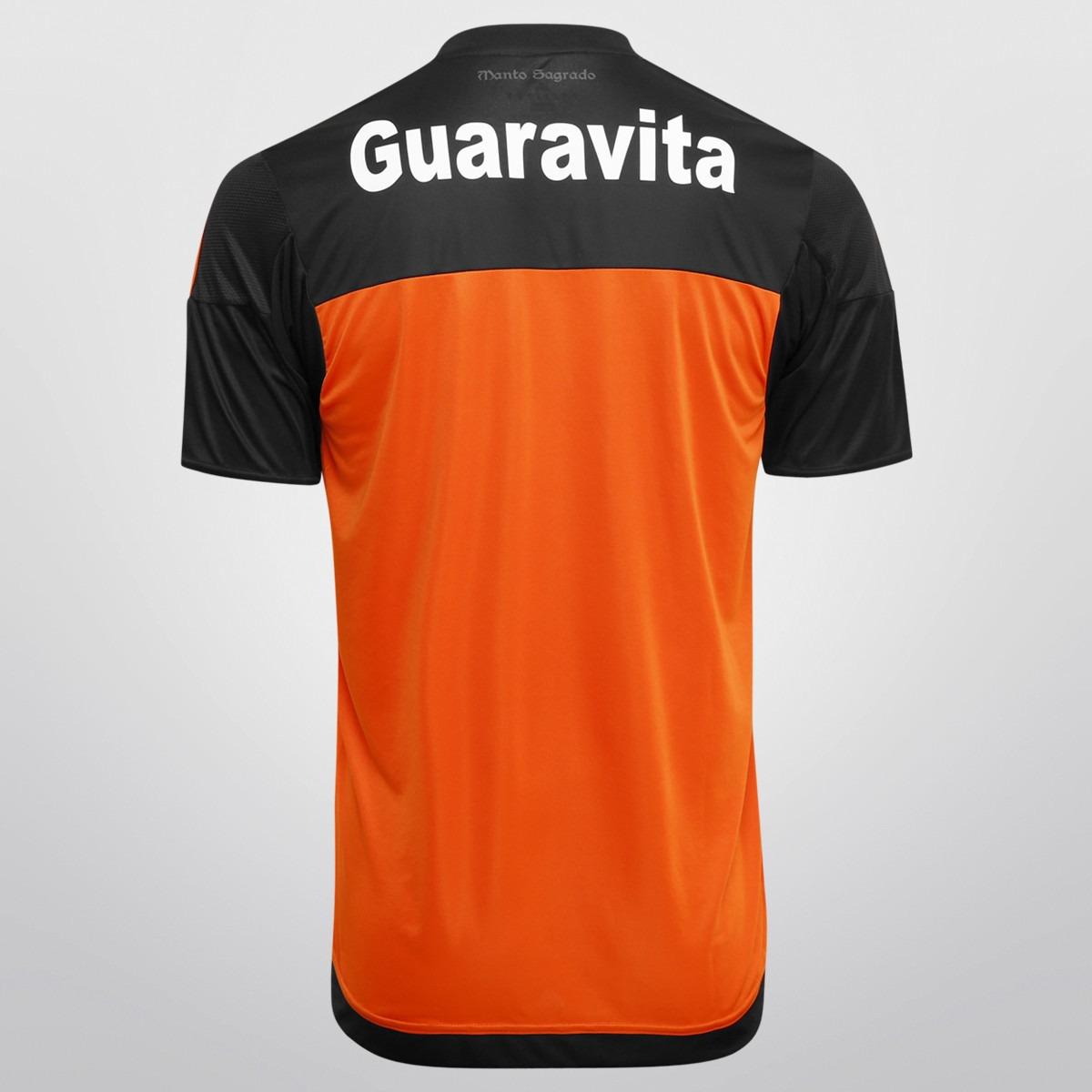 f346cf200a506 camisa adidas flamengo goleiro 2015 s nº. Carregando zoom.