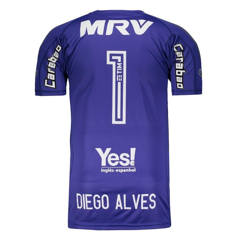 camisa adidas flamengo goleiro i 2017 1 diego alves. Carregando zoom. 355e0f3421acc