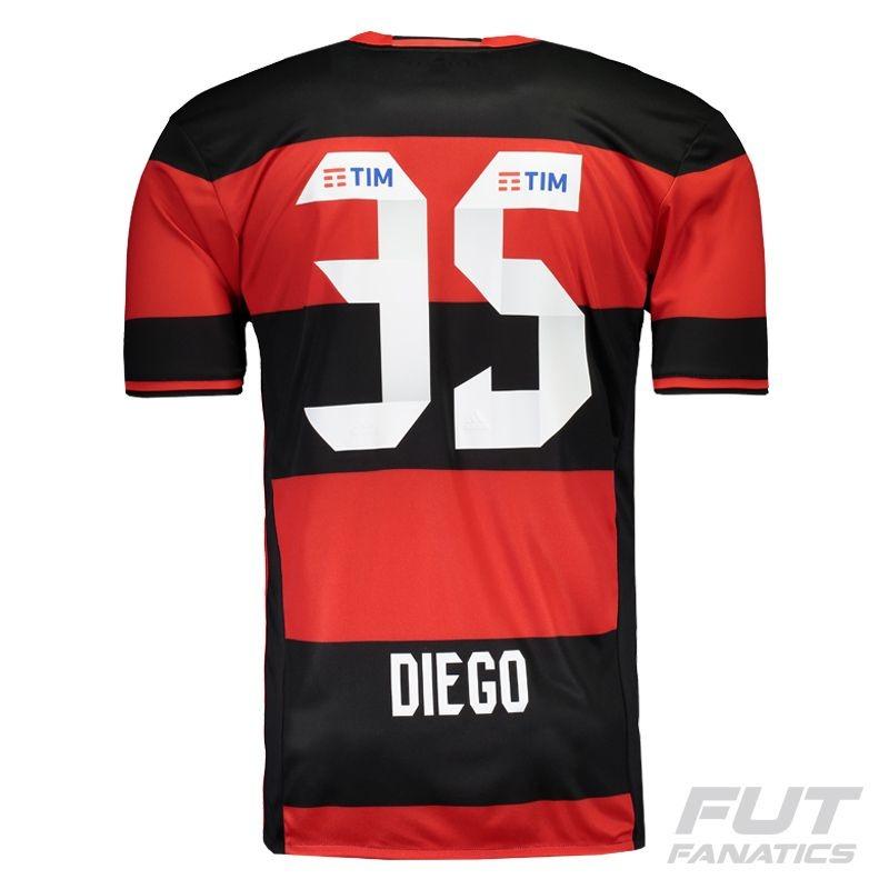2c90002608 camisa adidas flamengo i 2016 35 diego - futfanatics. Carregando zoom.
