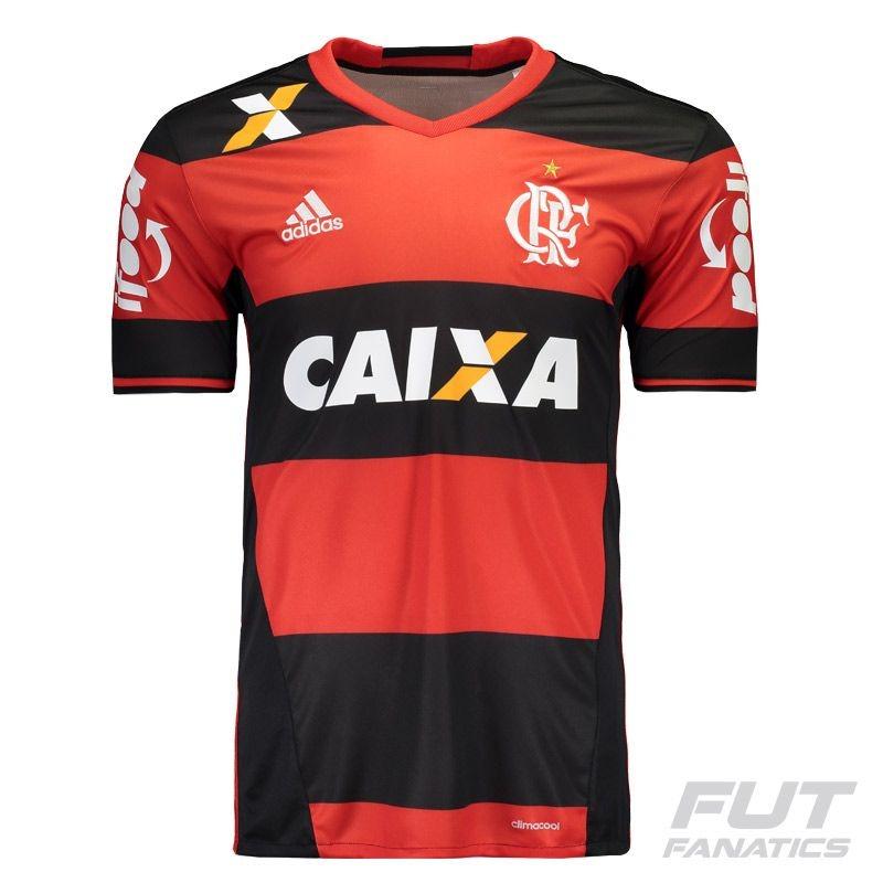 dcb6995ce2 camisa adidas flamengo i 2016 com patrocínio - futfanatics. Carregando zoom.