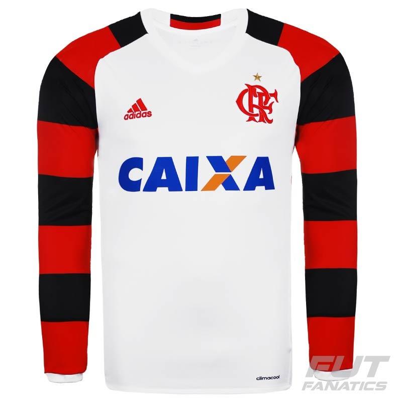 cbfcd703a2 camisa adidas flamengo ii 2016 manga longa - futfanatics. Carregando zoom.