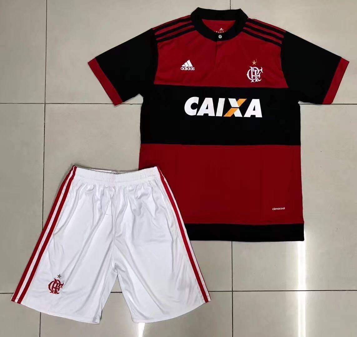camisa adidas flamengo kit infantil original 2018 sport mc. Carregando zoom. ce875dfebd2e5