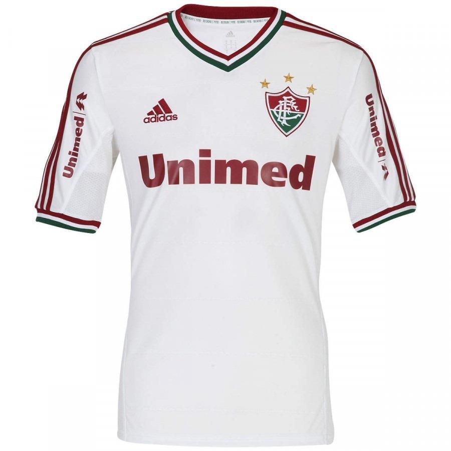 camisa adidas fluminense 2 2013 oficial. Carregando zoom. 6b9a41c45f522