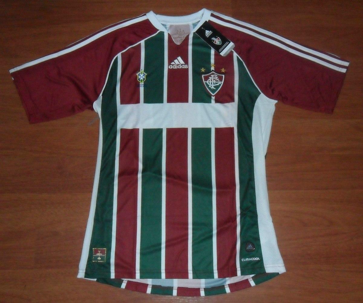Camisa adidas Fluminense 2011 12 Tam. M Sem Número patrocíni - R  99 ... 5c3b9cbd64624