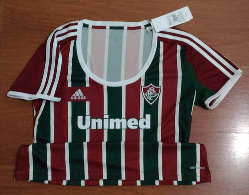 096b38ceb6 Camisa adidas Fluminense 2014 Tricolor Tam. G Sem Número - R  74