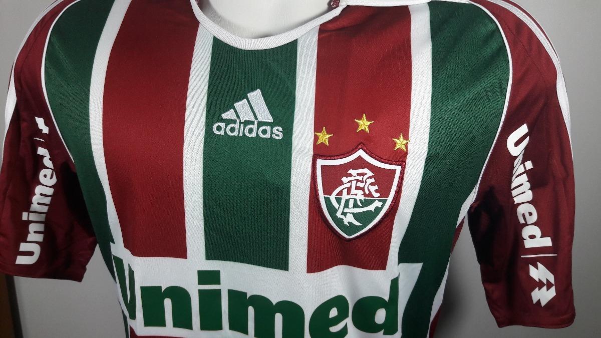e4d805434e Camisa adidas Fluminense Home 2008 2009 Nova - R  145