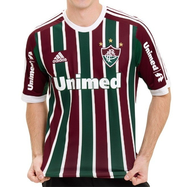 5fa2d71ceb Camisa adidas Fluminense I Unimed Numero 10 Original 1magnus - R  69 ...