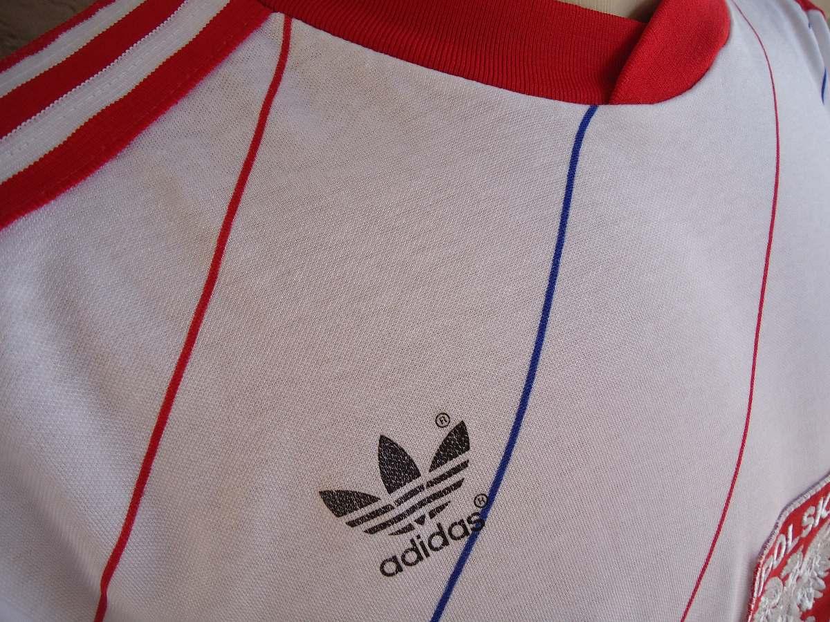 b3ae802e9929a camisa adidas futebol shirt polônia polska poland 1987   88. Carregando zoom .