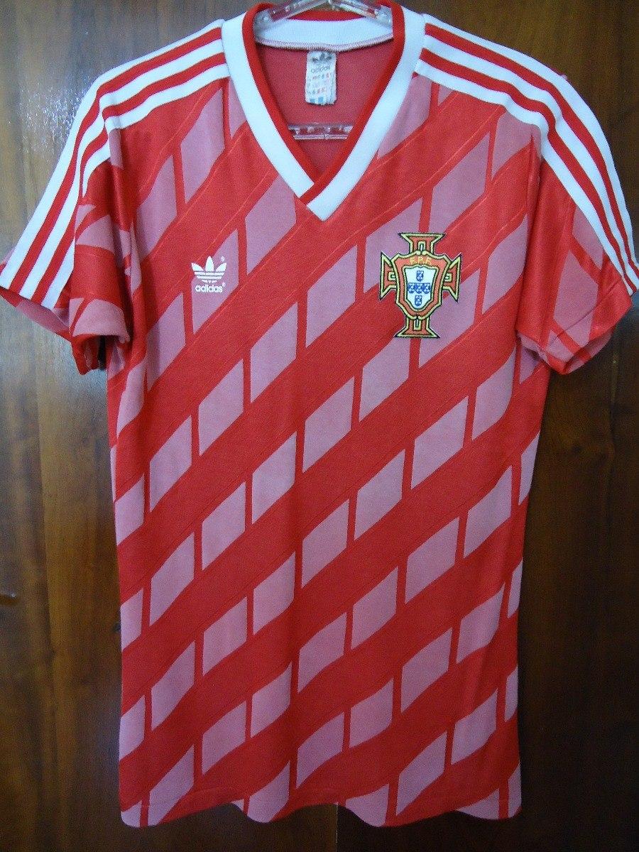 974205328fd16 camisa adidas futebol shirt portugal 1987 original importada. Carregando  zoom.