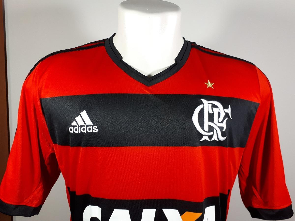 a05d086bacd1d9 camisa adidas home flamengo 2014 nova oficial número 10. Carregando zoom.