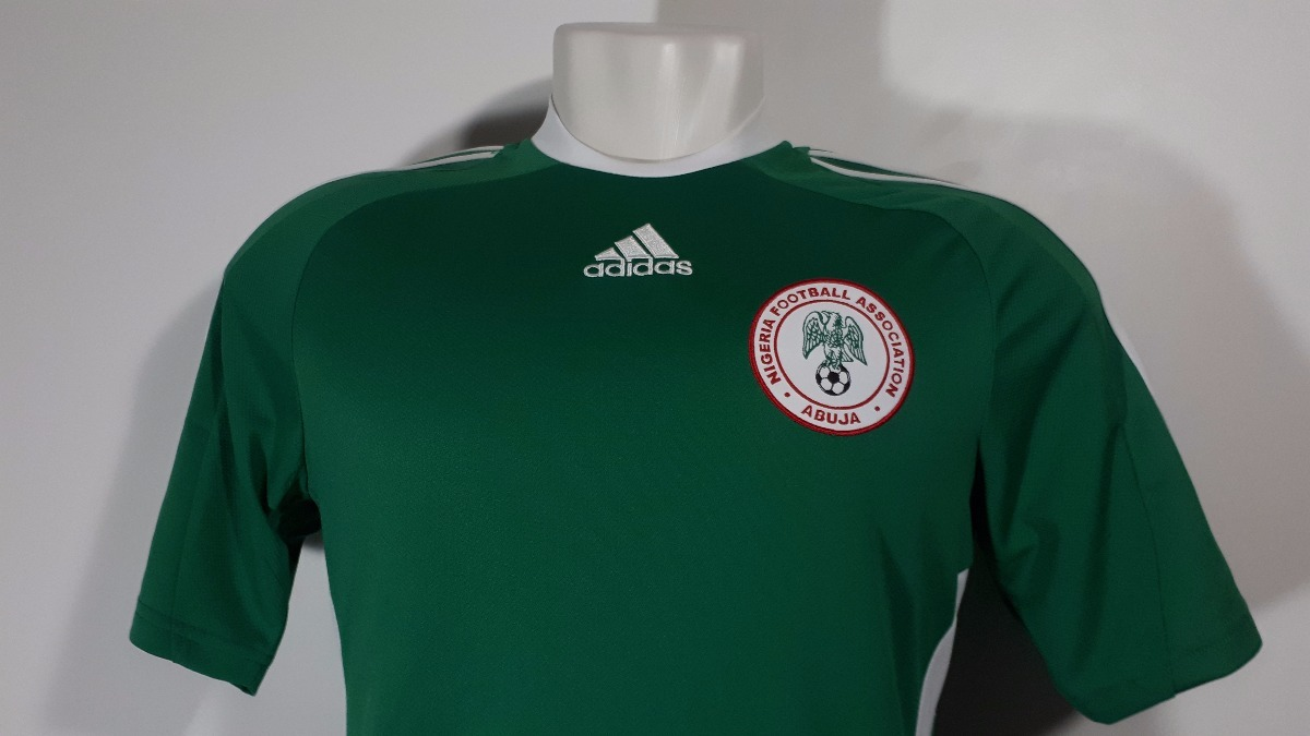7475941b72 Camisa adidas Home Nigéria 2010 Nova Oficial Sem Etiqueta - R  110 ...